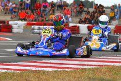 Jordi San Andrés (SKB Competición/Thingbook) se mide a los mejores en la tercera prueba del Campeonato de España de Karting