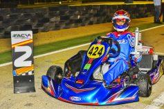 Suerte desigual para los pilotos de SKB Competición en la espectacular prueba nocturna de Albaida