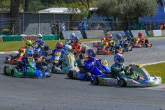 Los pilotos SKB Competición ofrecen un excelente nivel en el primer meeting del CKCV 2021