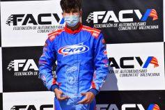 SKB Competición dedica los dos podios de Dani Carmona en el 2º meeting del CKCV a Alfredo Ferrer (Fafe)