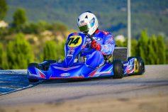 SKB Competición pone a punto a sus pilotos y los karts CKR en el primer meeting del CKGV