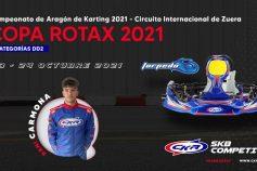 Dani Carmona (DD2) representará a SKB Competición en la Copa Rotax prevista en Aragón